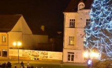 Rozsvícení vánočního stromu, Slavkov u Brna
