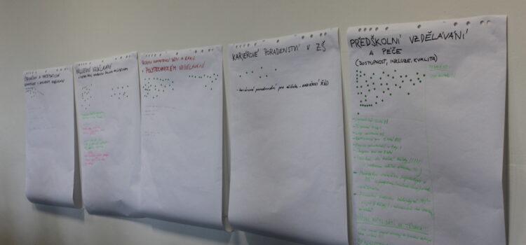 Setkání ředitelů a zřizovatelů k tvorbě MAP Šlapanice