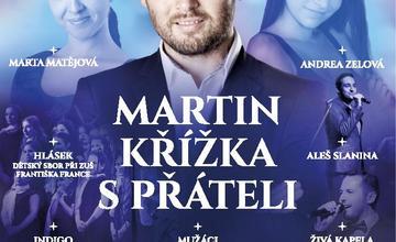 Vánoční koncert Martina Křížky a jeho přátel