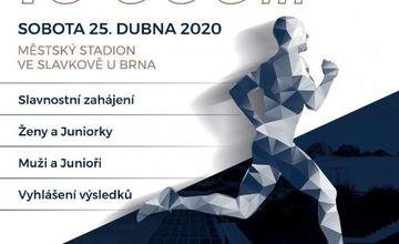 Mistrovství České republiky v běhu na 10000m na dráze, Slavkov u Brna