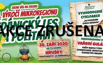 *ZRUŠENO* Oslavy 25. výročí mikroregionu Ždánický les a Politaví